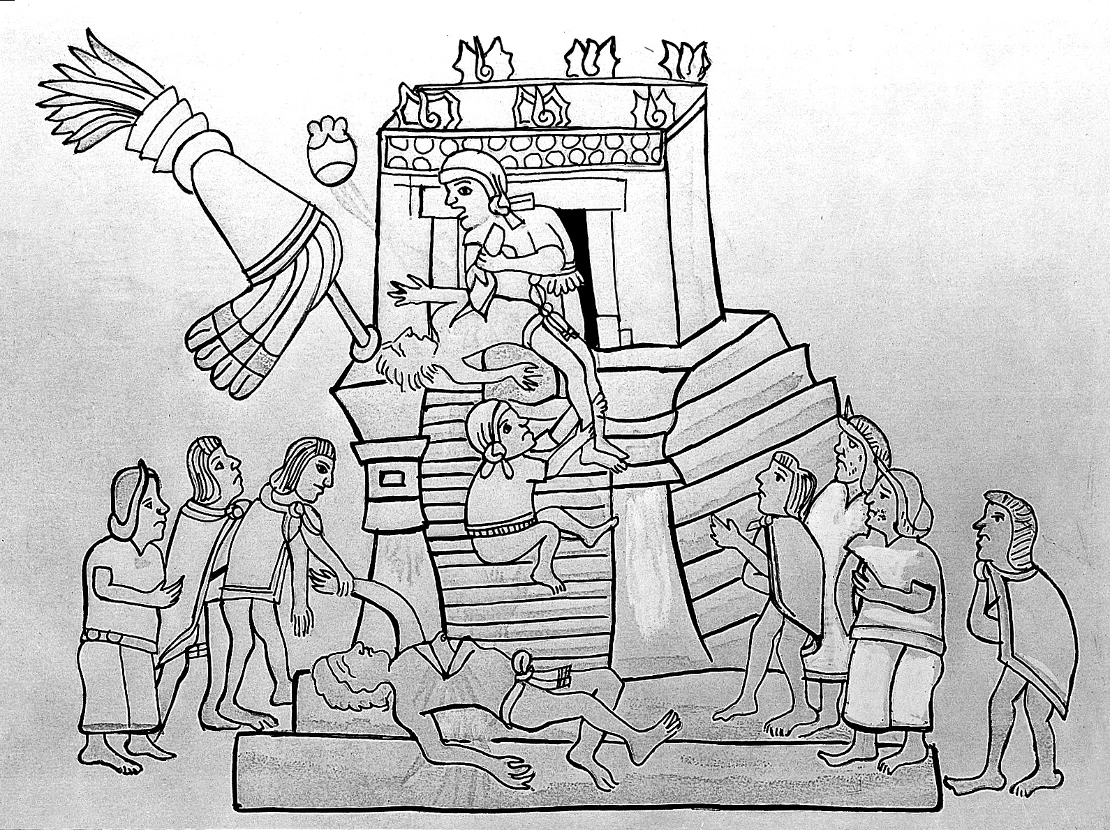 aztec human sacrifice a detached Essays - largest database of quality sample essays and research papers on compare aztecs and spanish aztec human sacrifice - a detached view.