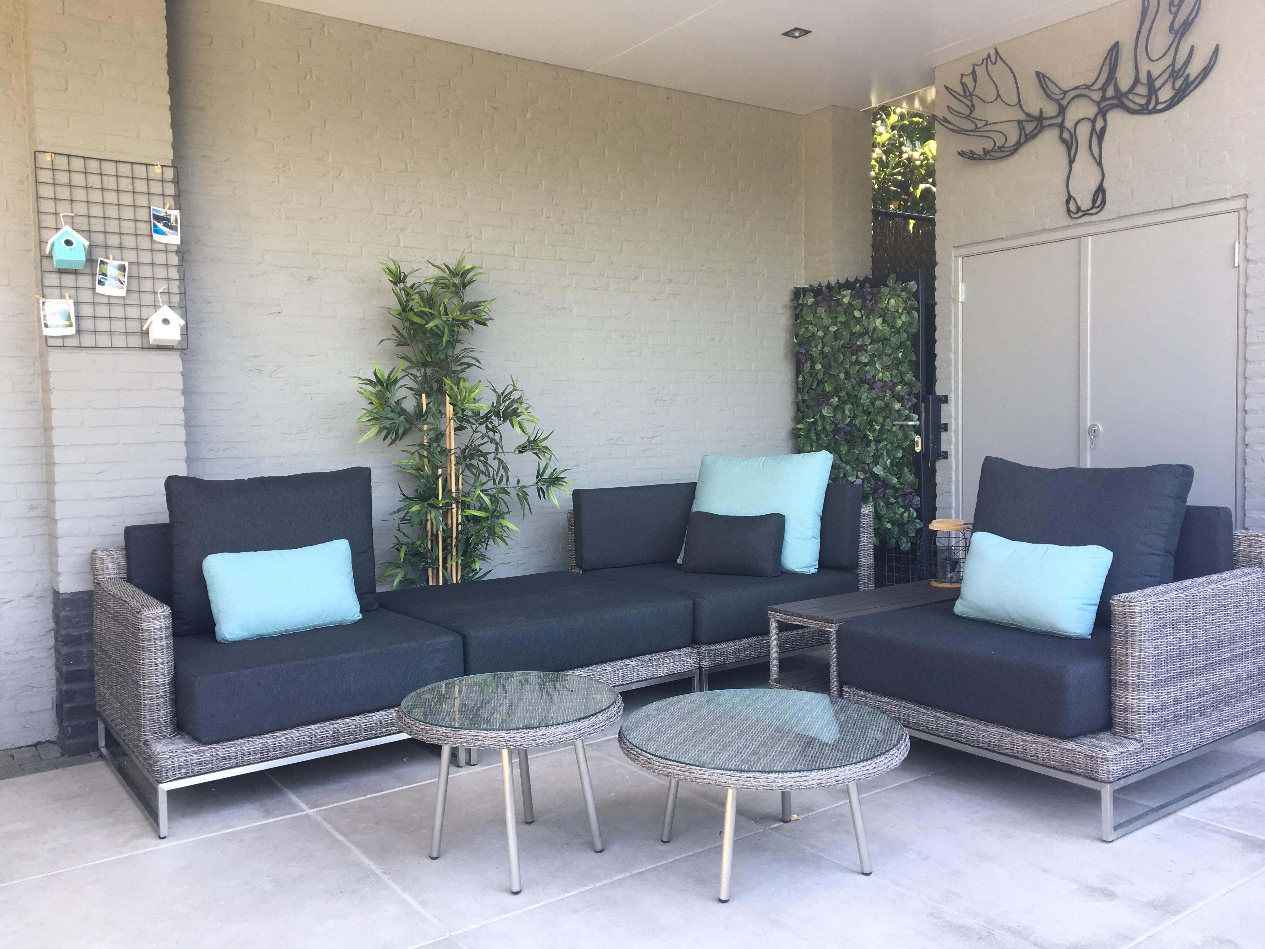 Lounge Bank Tuin : Bestand loungeset nova rondwicker grijs xxl super design lounge