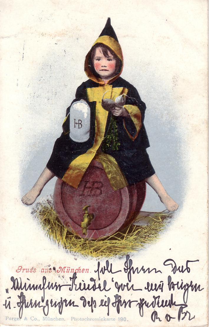 Münchner Kindl, Wikimedia Commons