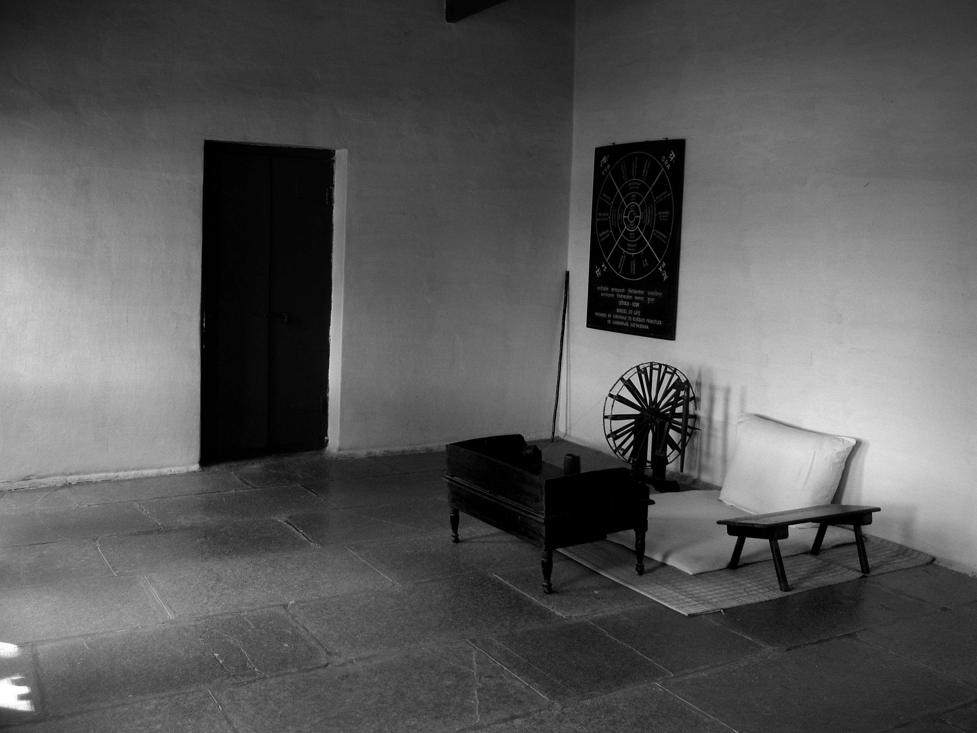 sabarmati ashram. Black Bedroom Furniture Sets. Home Design Ideas