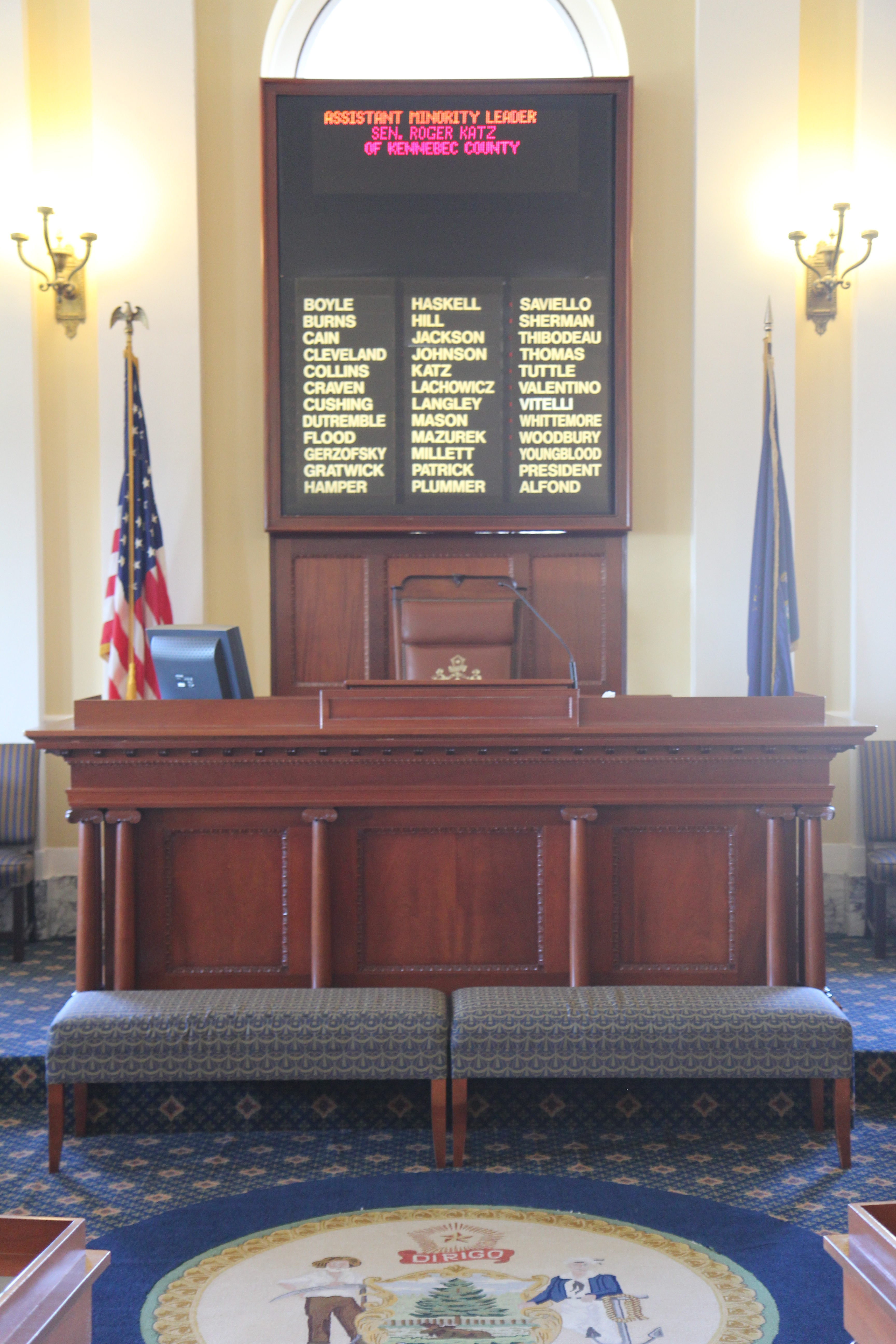 List Of Presidents The Maine Senate