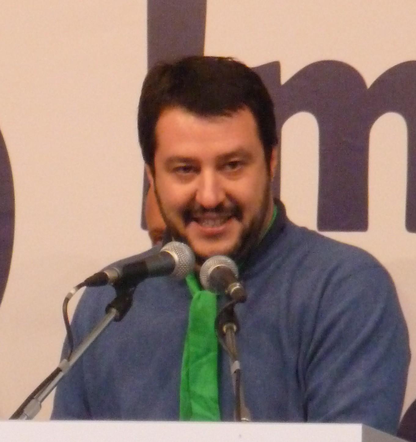 Matteo Salvini citato con Di Battista dal NY Times