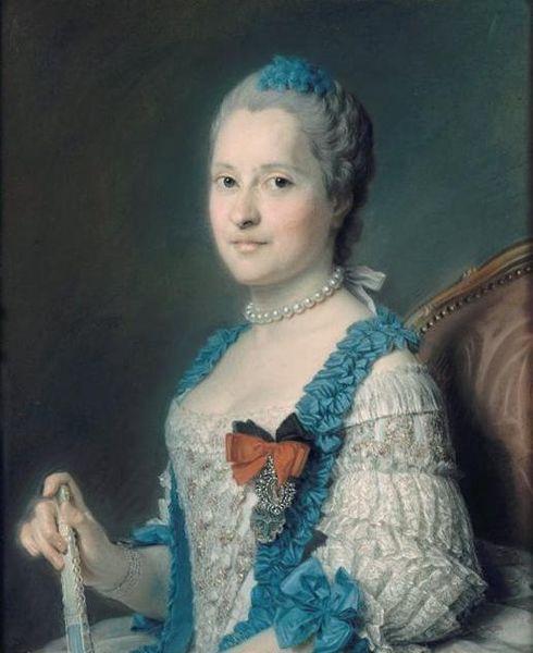 Maurice Quentin de La Tour, Marie-Josèphe de Saxe, dauphine (1756-1760) -002.jpg