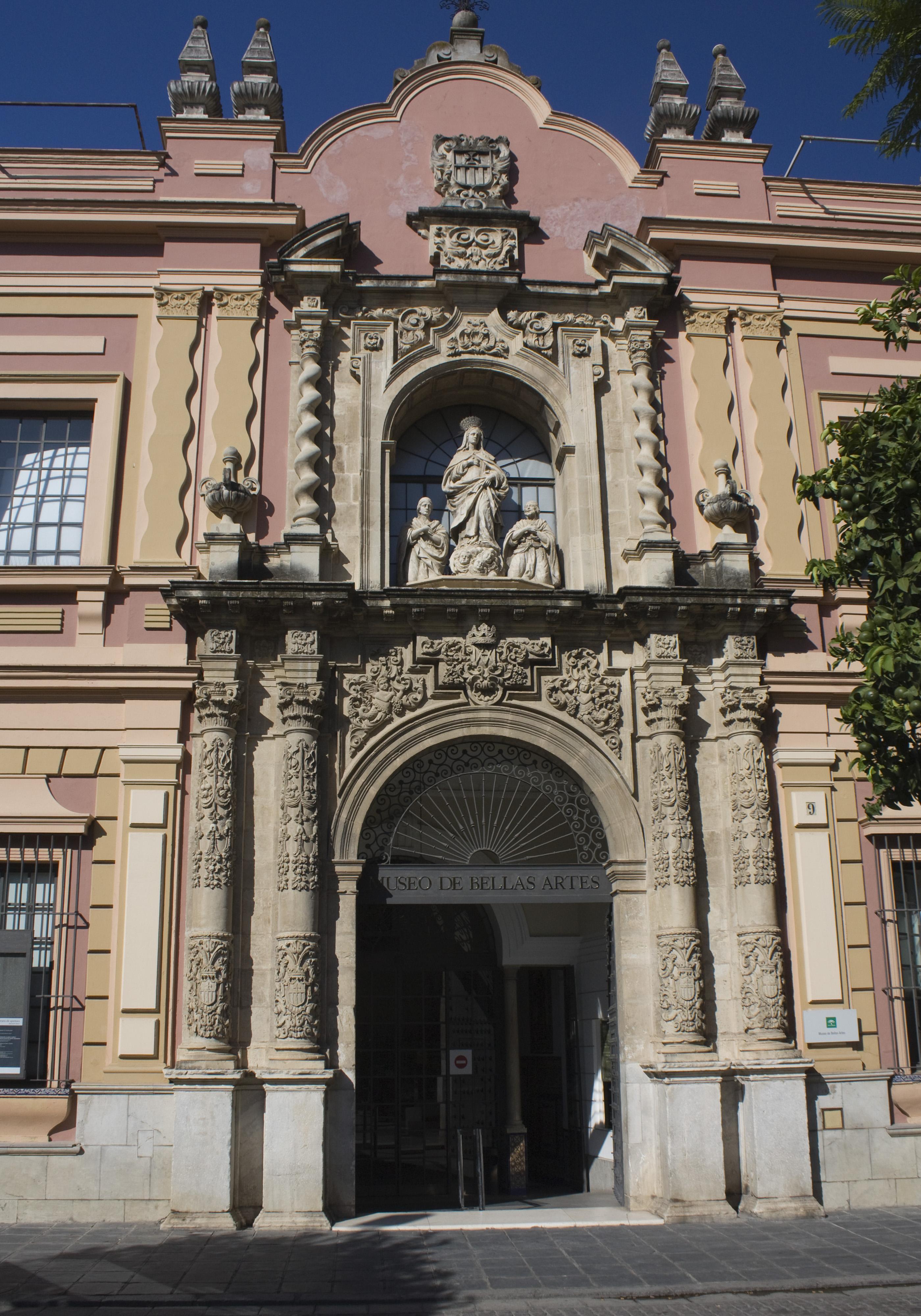 File:Museo de Bellas Artes de Sevilla-Puerta del Convento de la Merced-201109...