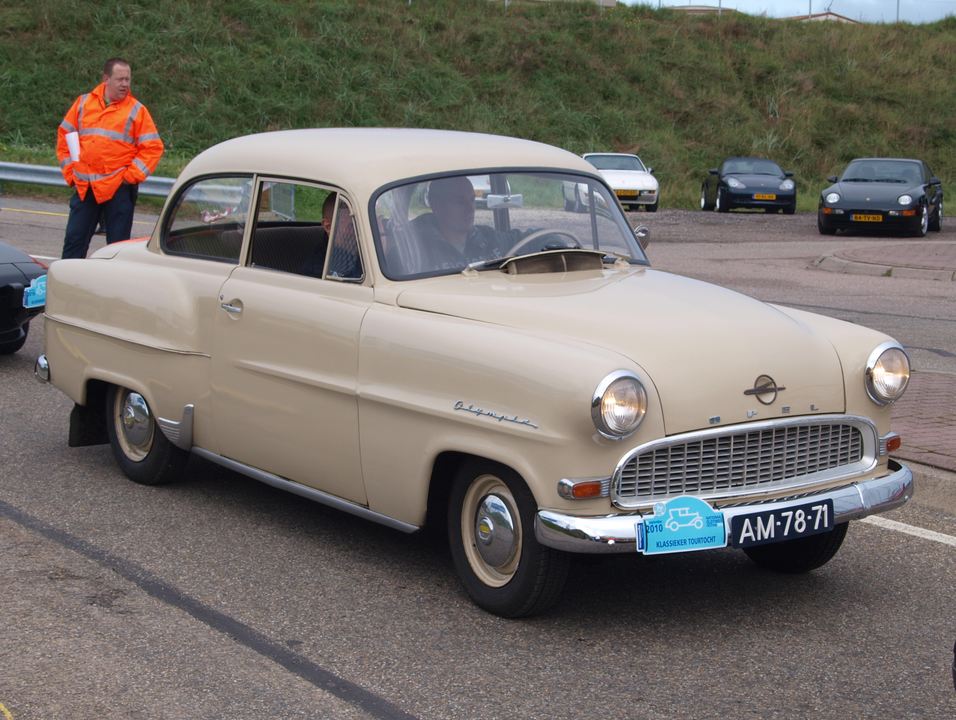 Opel Rekord 1st generation Olympia Rekord 1953-1957 (1956 sedan 2d ...
