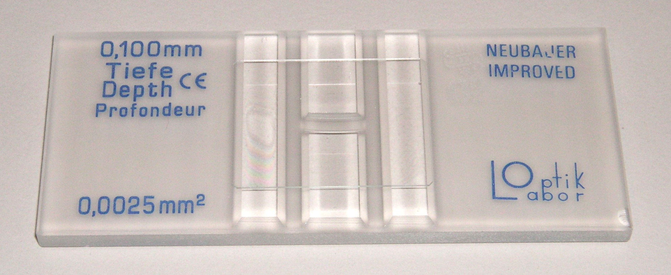how to read a hemocytometer