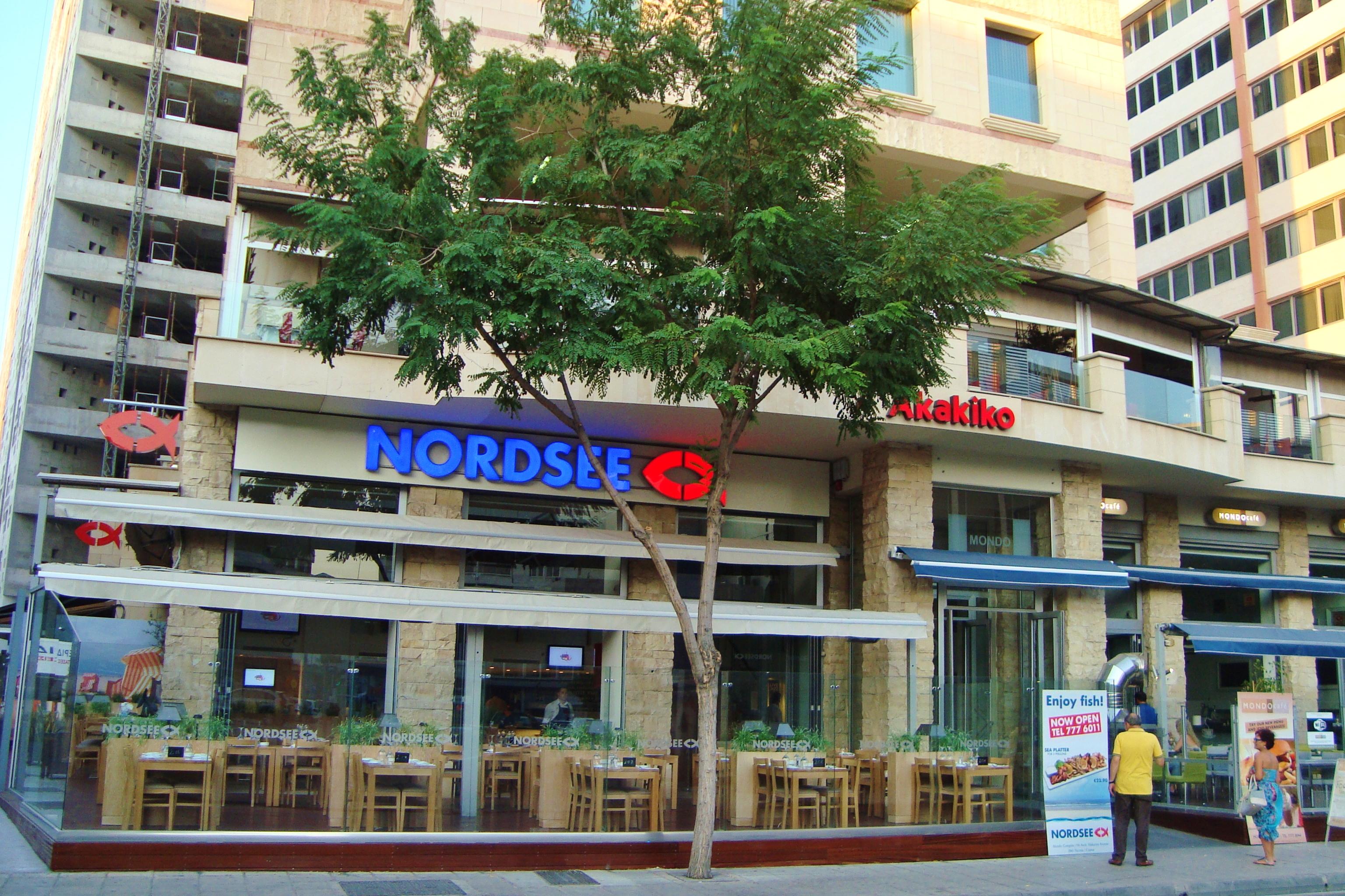 File Nordsee German fast food restaurant chain in Makariou Avenue