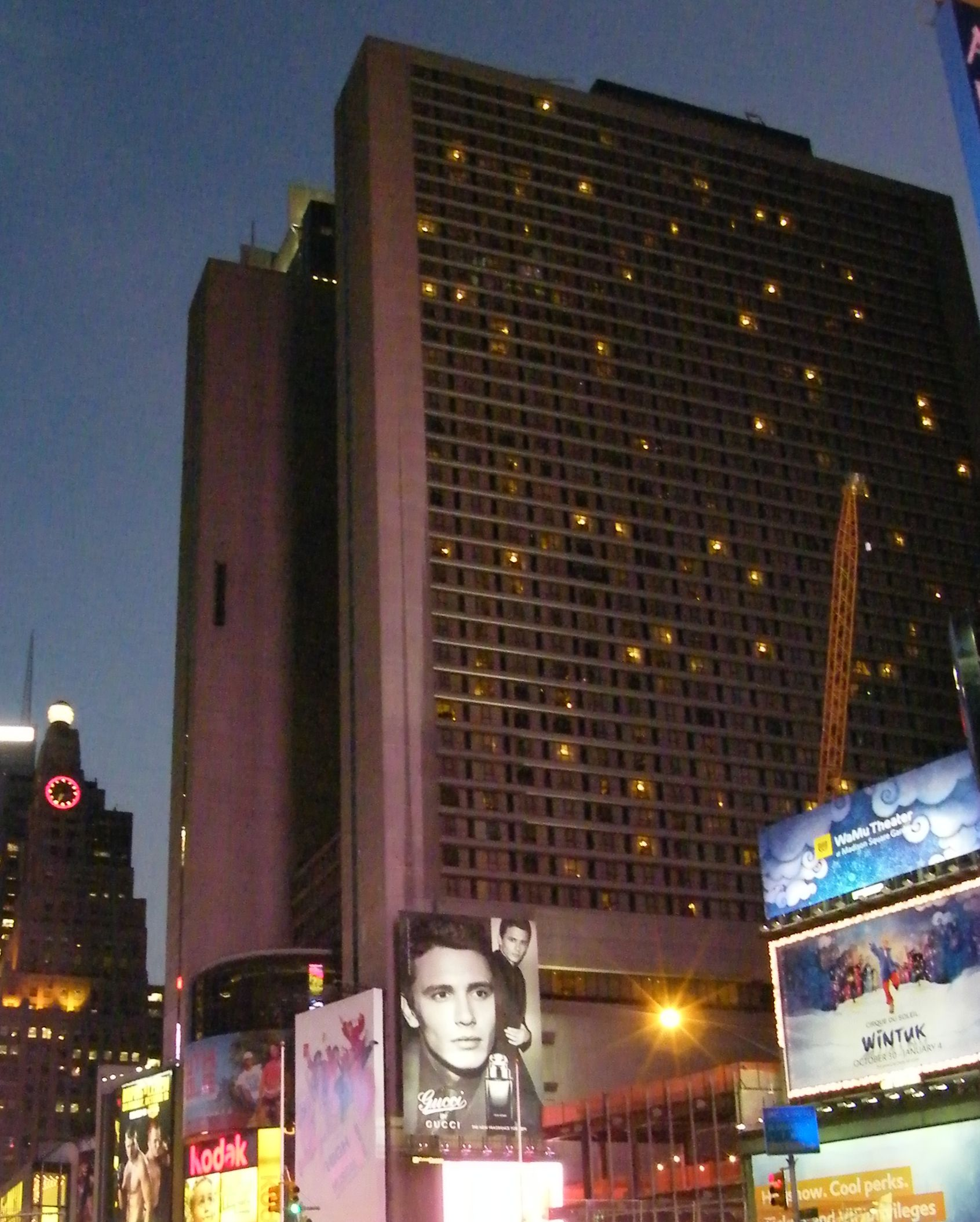Marriott Marquis Hotel  Broadway Times Square New York