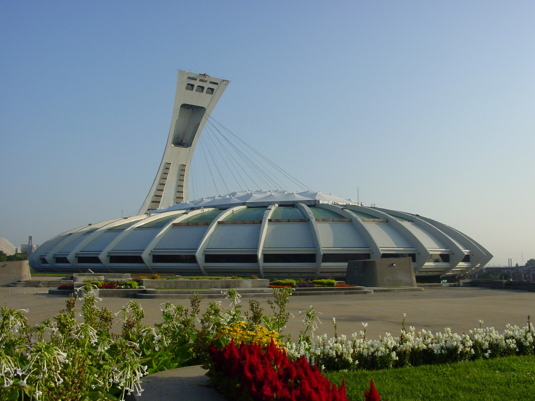 Montreal Olympic Games Olympic Stadium in Montreal