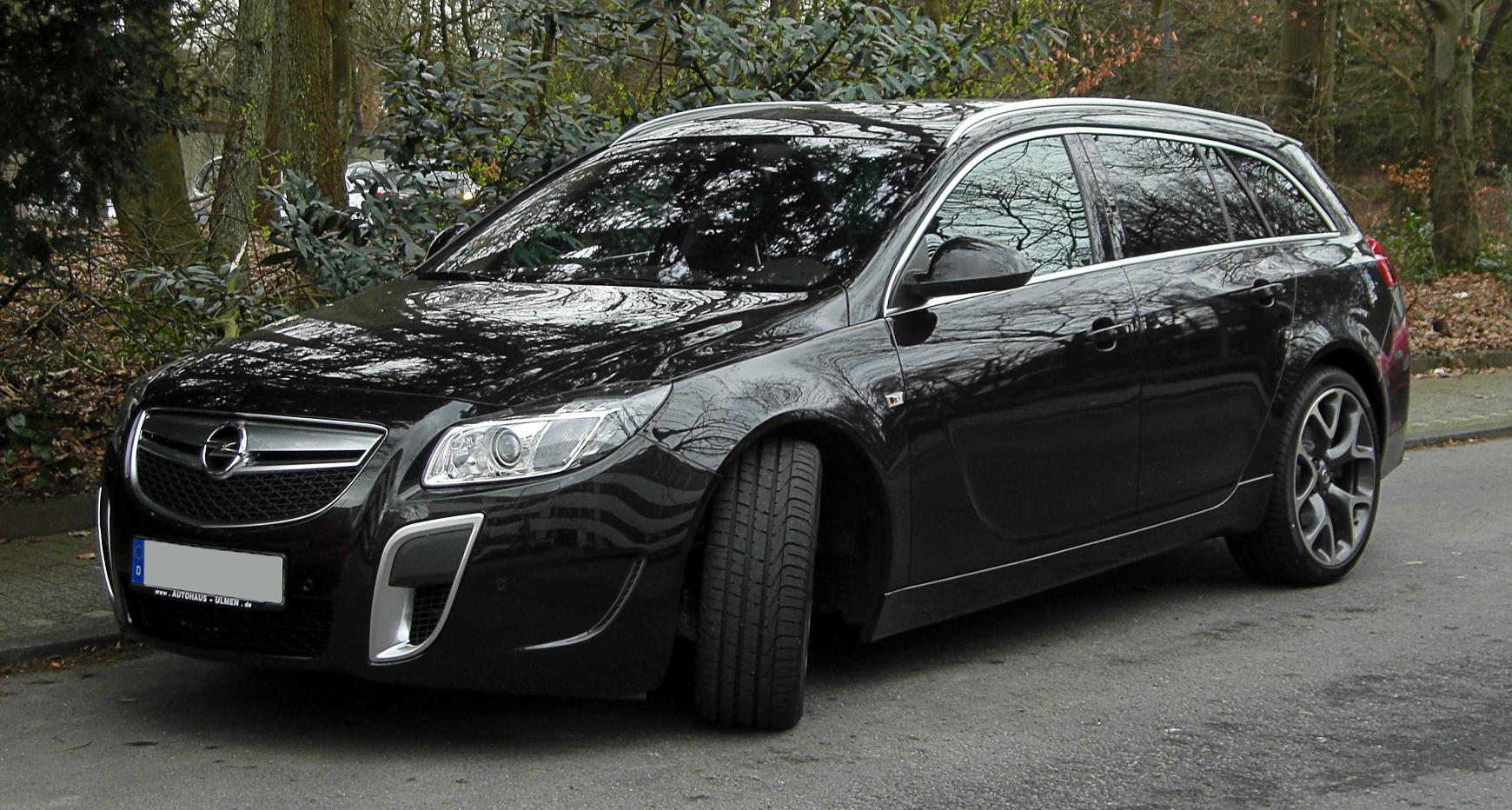 File:Opel Insignia Sports Tourer OPC – Frontansicht, 13. März 2011 ...