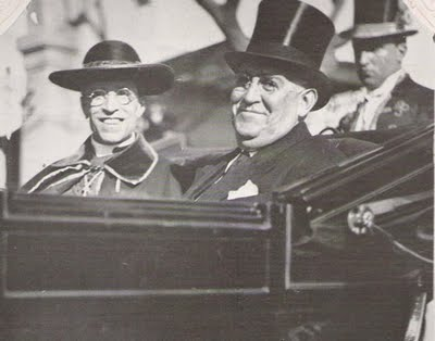 A smiling Pacelli with Argentine president Agustin P. Justo Pacelli in Argentina 01.jpg
