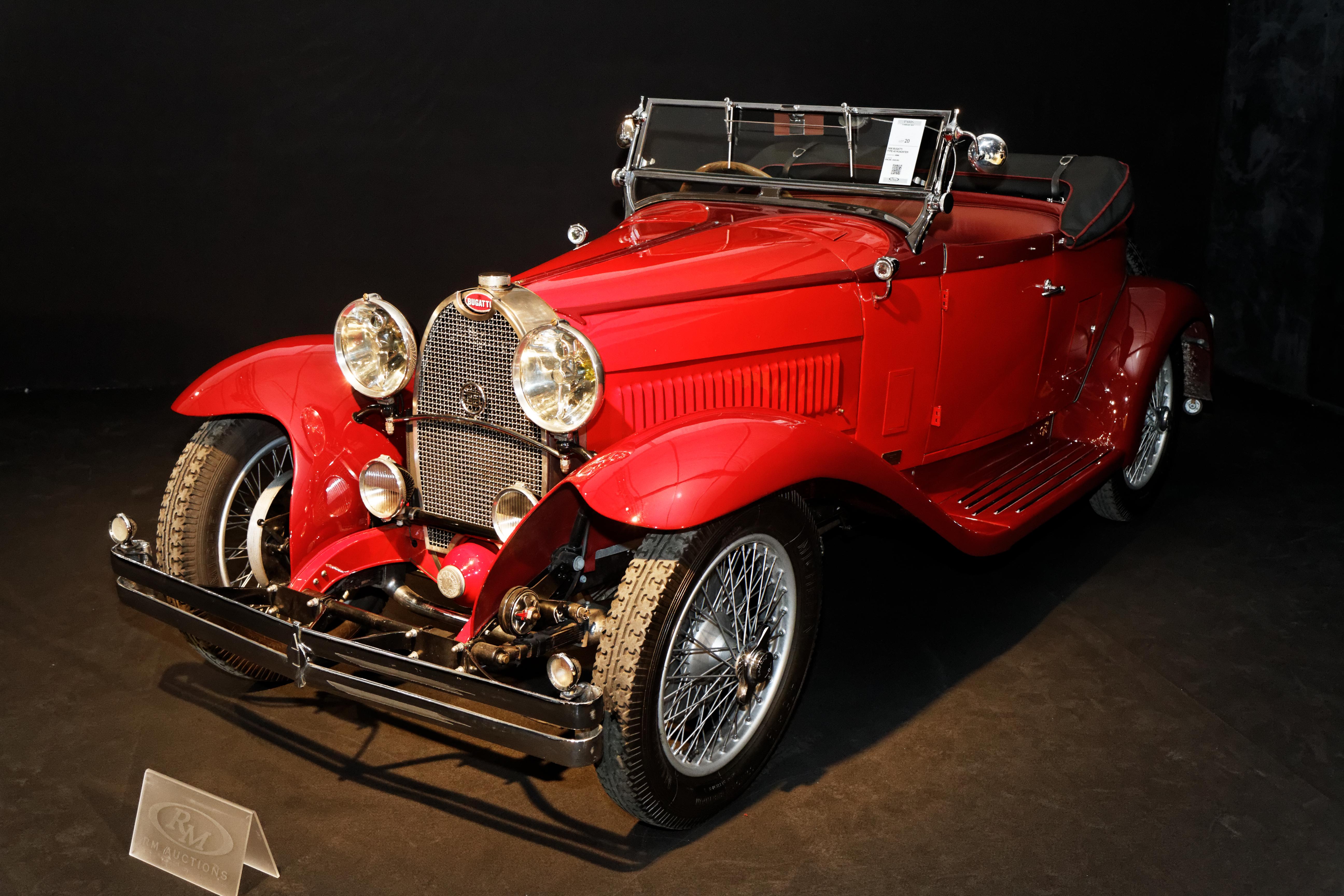 Bugatti type 40 roadster