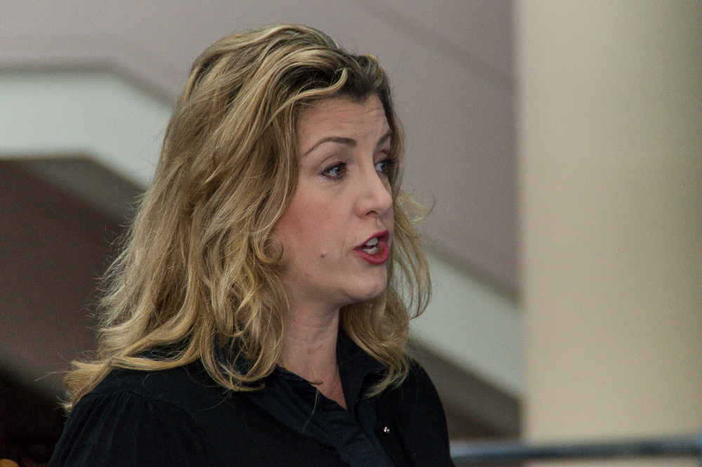 Image result for penny mordaunt miming