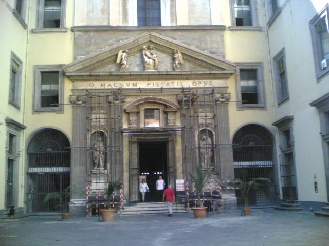Palazzo of Monte di Pietà, Naples