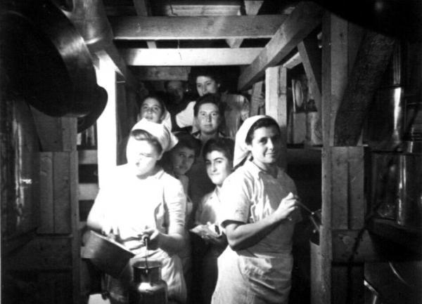 מטבח במקלט