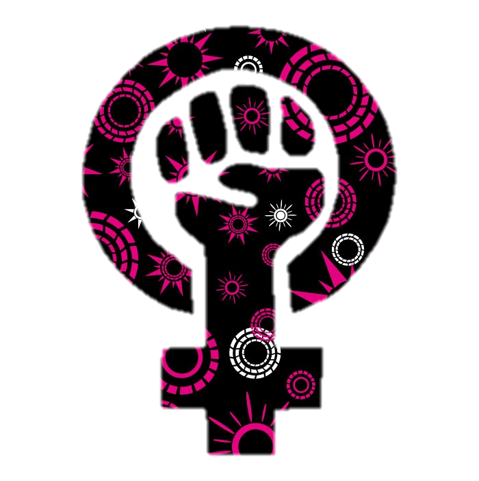 Filepink And Black Feminist Symbolg Wikimedia Commons