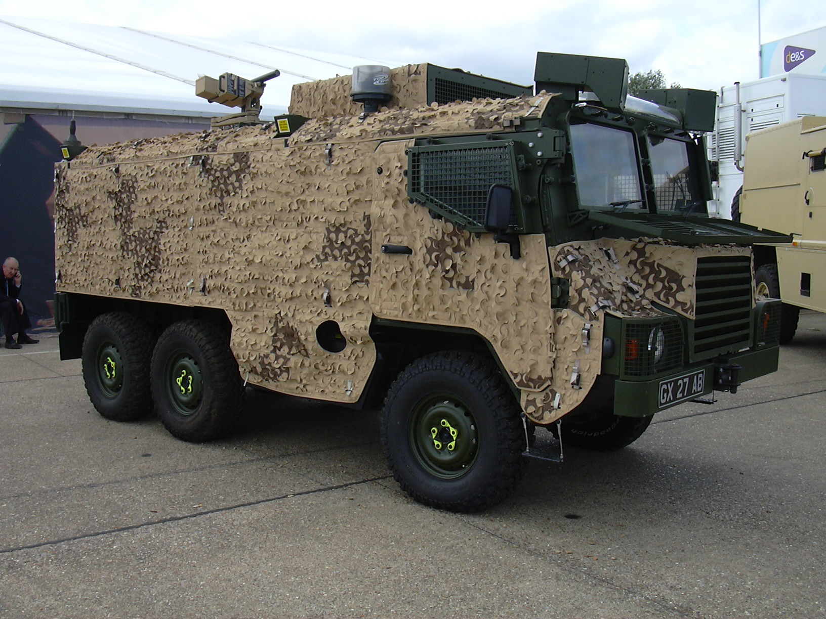 Pinzgauer High Mobility All Terrain Vehicle Military