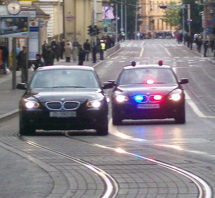 police escort techniques
