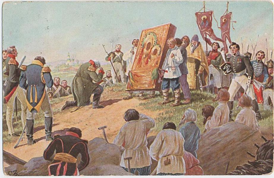 BORIS ZVORYKINE (1872-1942(?)) Postcard_by_B.Zvorykin_24