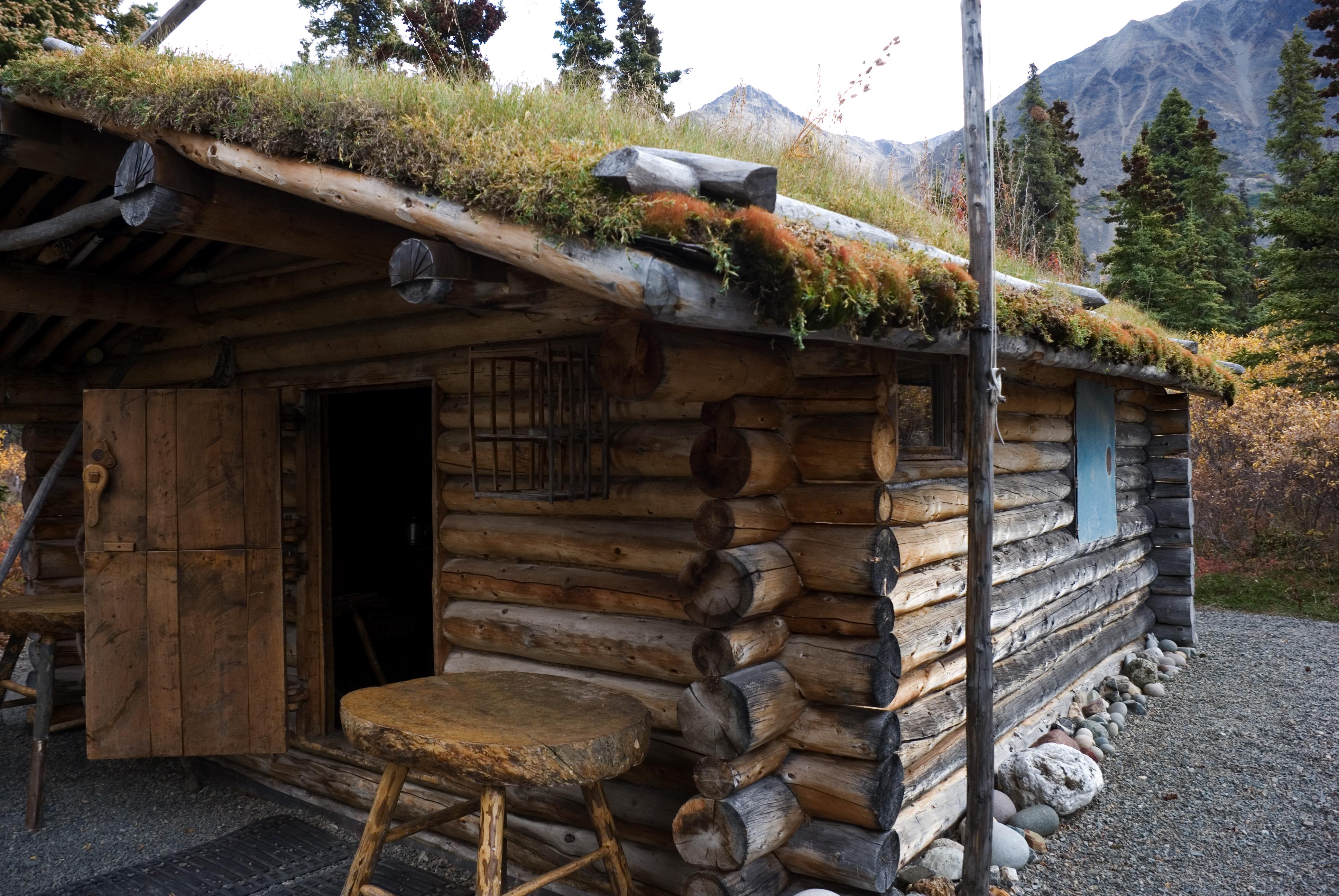 File proenneke 39 s wikimedia commons for Building a cabin in alaska