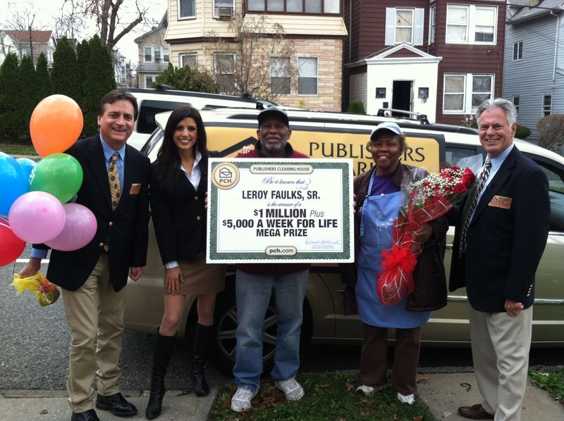File Publishers Clearing House Prize Patrol Awards 5000 A