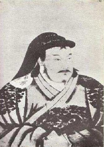 Portrait of young Kublai Khan by Anige, a Nepali artist in Kublai's court Qubilai Setsen Khaan.JPG