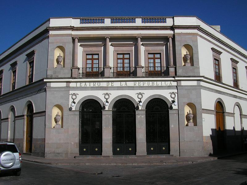 Teatro de la Repblica Quertaro  Wikipedia la enciclopedia libre
