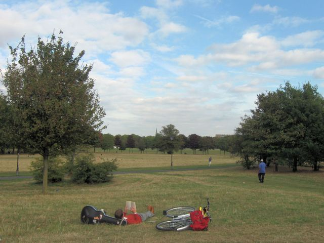 Relaxing on Clapham Common - geograph.org.uk - 1514155