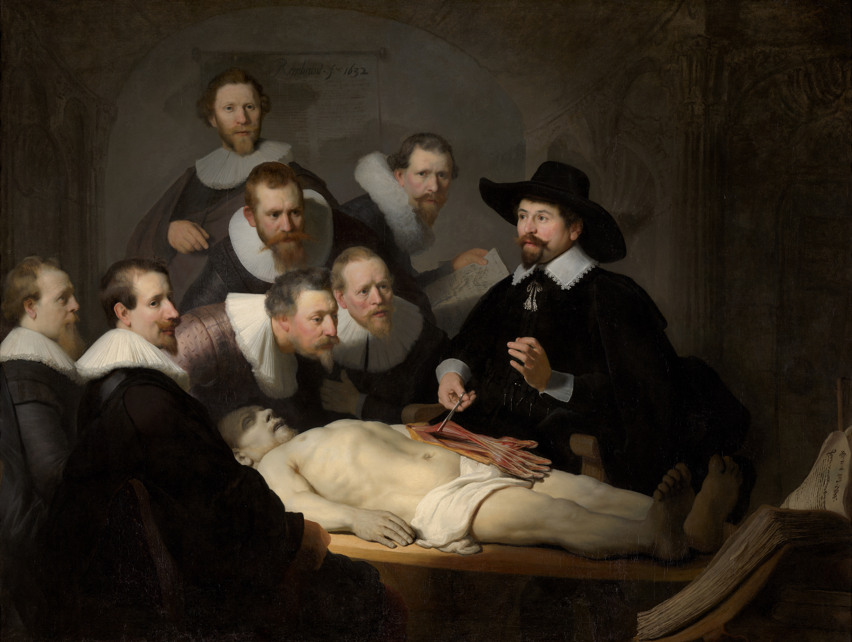 merkhant sect Lezione di anatomia del dottor Tulp - by Rembrandt Harmenszoon van Rijn (1632) En.wikipedia.com © Wikimedia.com