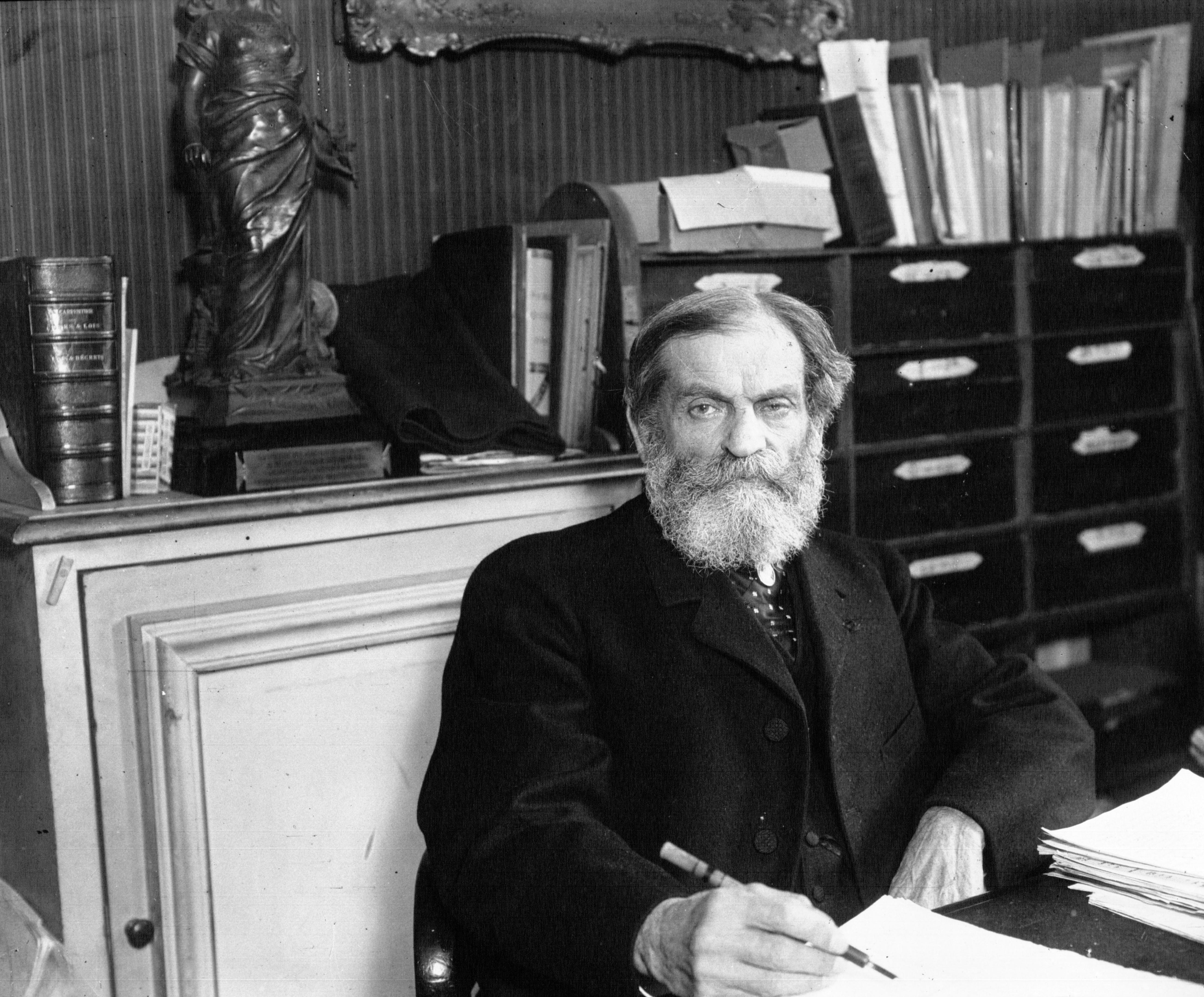 René Bérenger en 1910