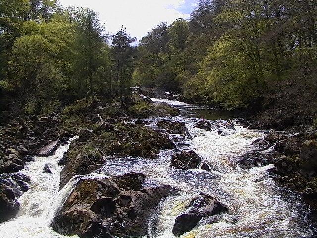 River Feugh from Feugh Bridge - geograph.org.uk - 36209