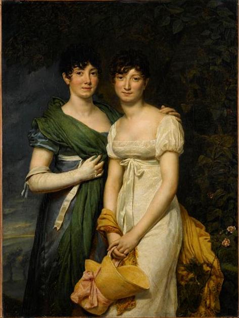 Mesdemoiselles Françoise-Élisabeth et Gaspard-Pauline Mollien