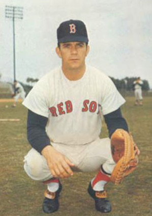Russ Gibson hit two homers in his only game for Falmouth in 1957. Russ Gibson 1969.jpg