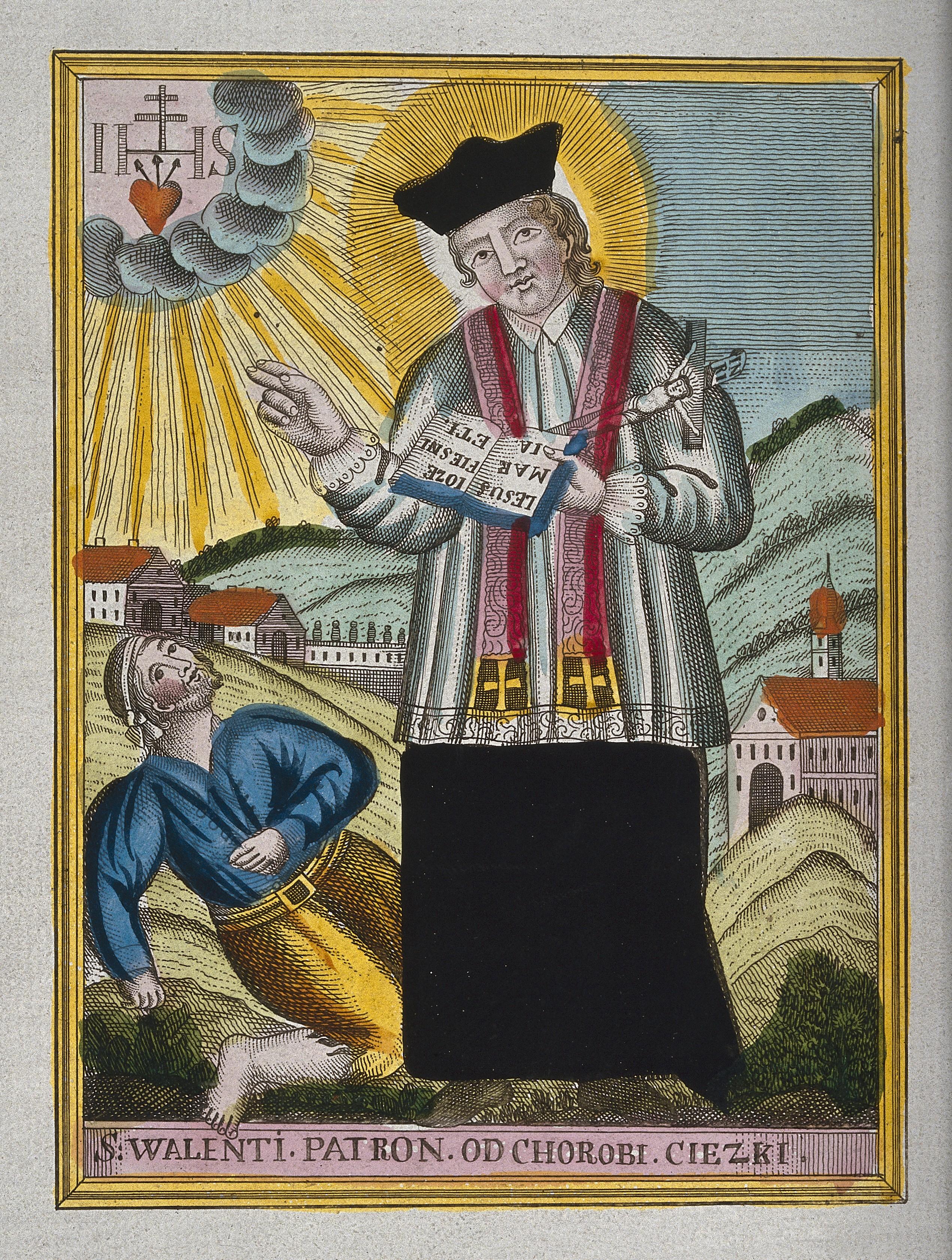 File saint valentine blessing an epileptic coloured - Message original saint valentin ...