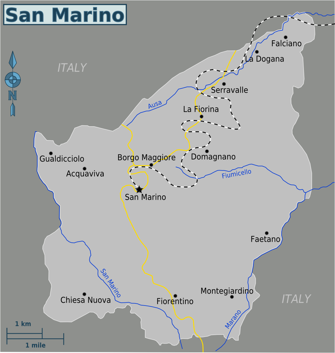 San Marino Travel guide at Wikivoyage