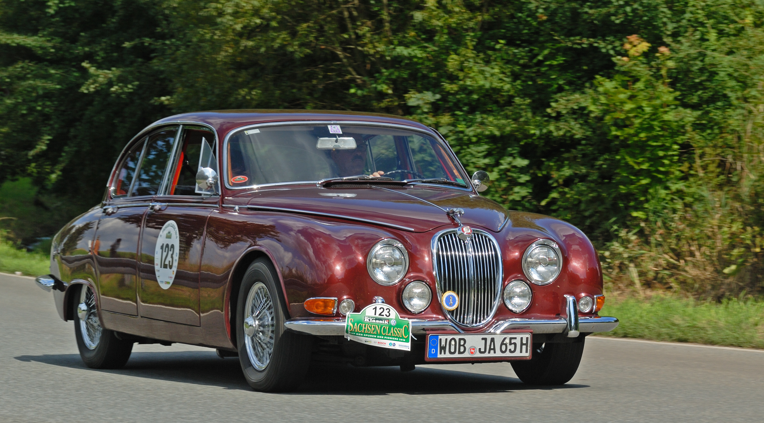 file saxony classic rallye 2010 jaguar 3 8 s type 1965 aka jpg wikimedia commons. Black Bedroom Furniture Sets. Home Design Ideas