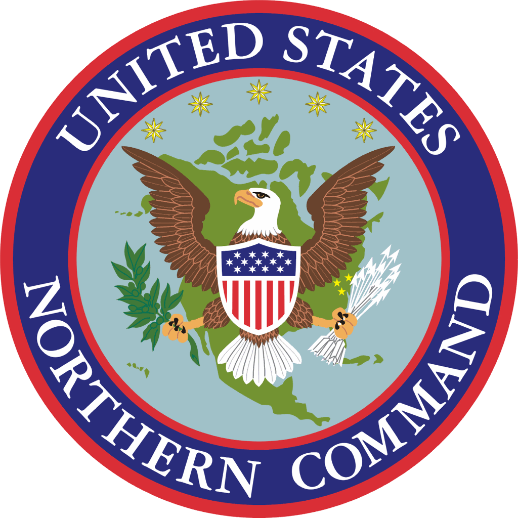 United States Northern Command Wikipedia - Us northern command map