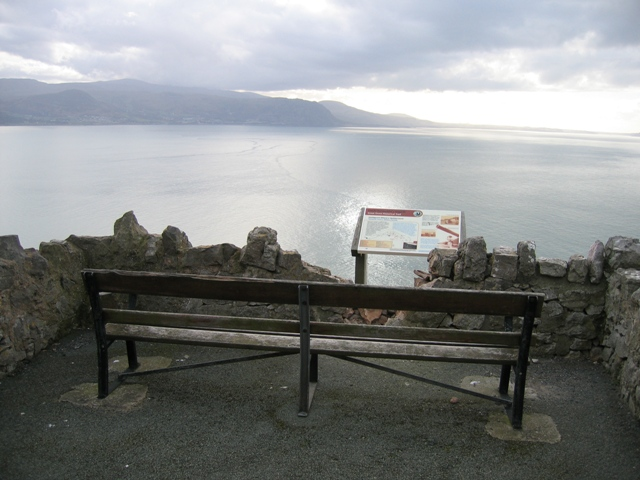 Seat with a View on the Great Orme - geograph.org.uk - 345563