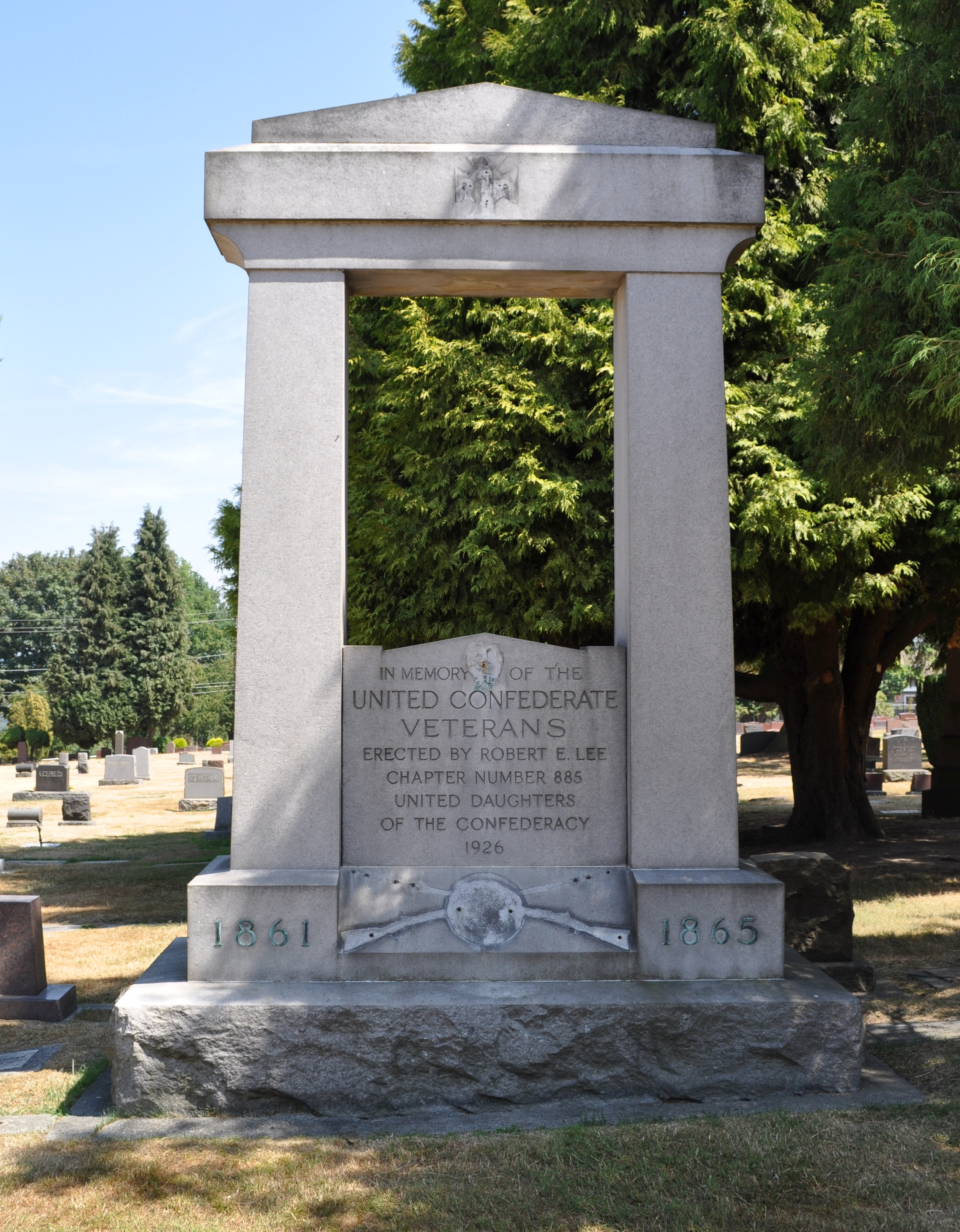 Unnamed gravestone