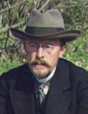 Image of Sergei Mikhailovich Prokudin-Gorskii from Wikidata