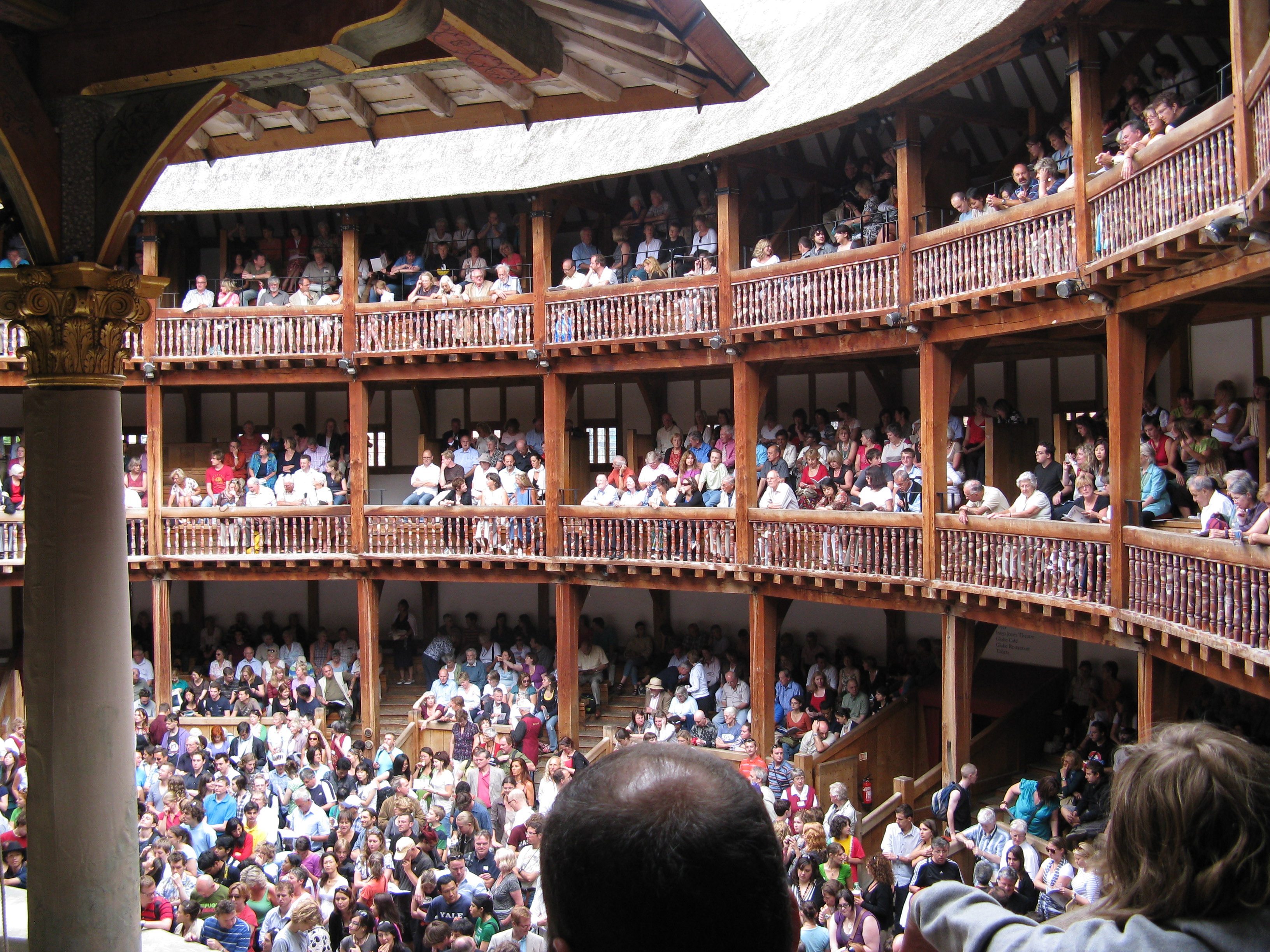 how to make the globe theatre