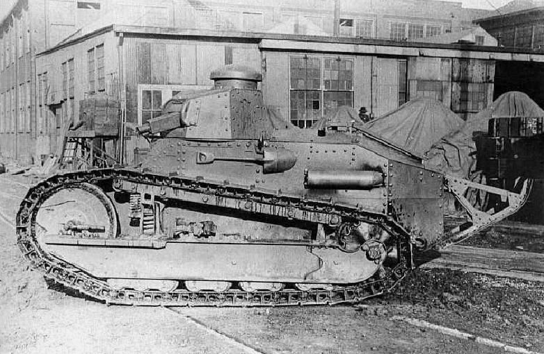 Six Ton Tank M1917 Wikipedia
