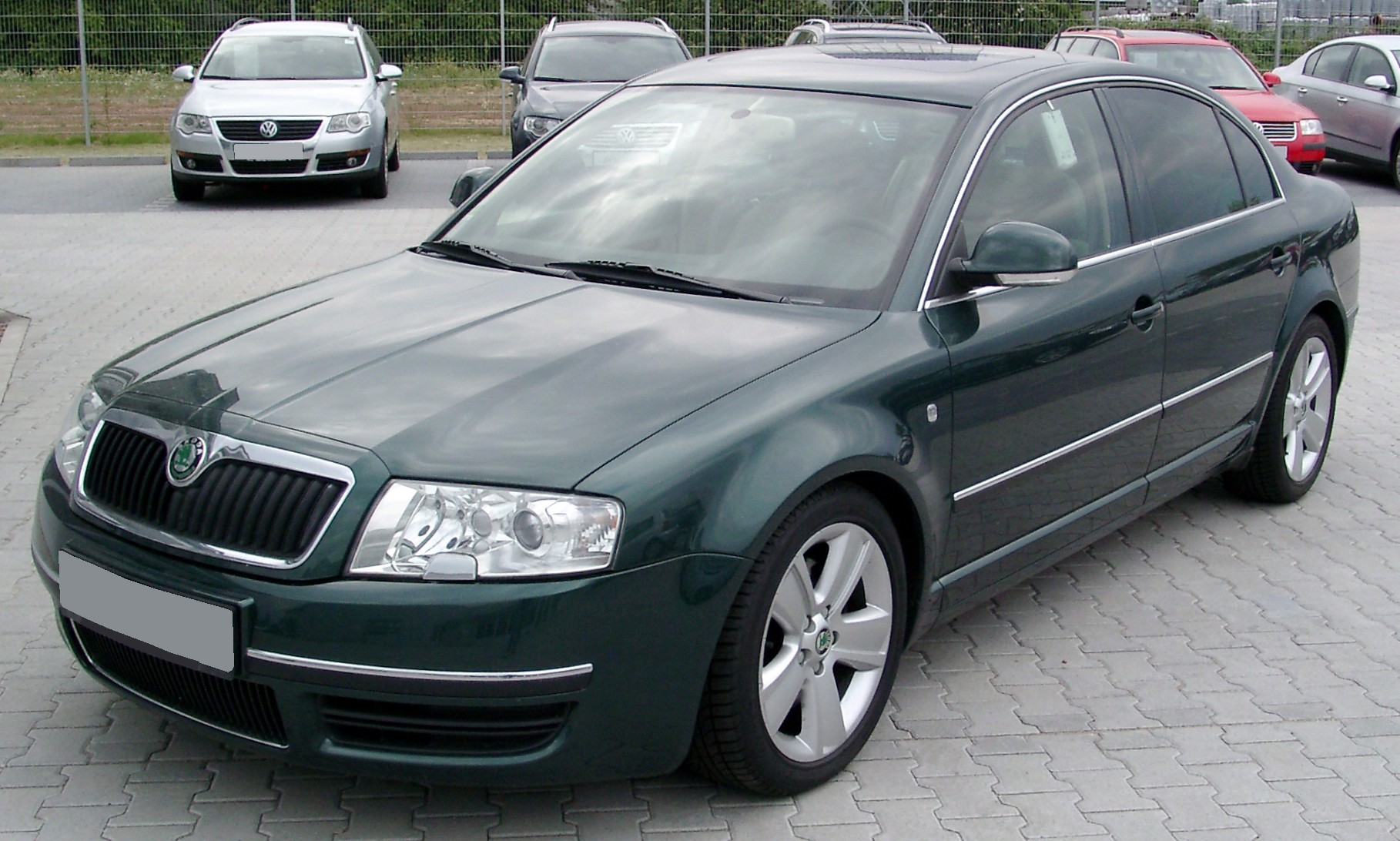 File Skoda Superb Front 20080524 Jpg