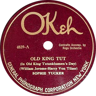 File sophie tucker old king tut okeh wikimedia for Classic house record labels