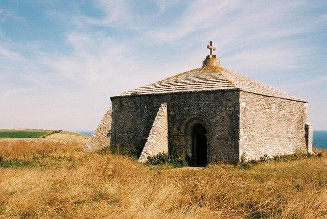 St. Aldhelm's Head, St. Aldhelm's chapel - geograph.org.uk - 522917