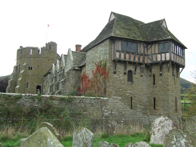 Stokesay Castle - geograph.org.uk - 1030901