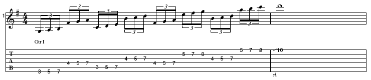 3-NPS String-Skipping Pattern #1