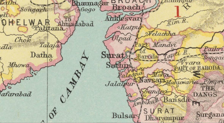 FileSuratSachin Map Imperial Gazetteer of Indiajpg Wikimedia