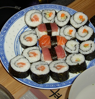 czy sushi jest zdrowe