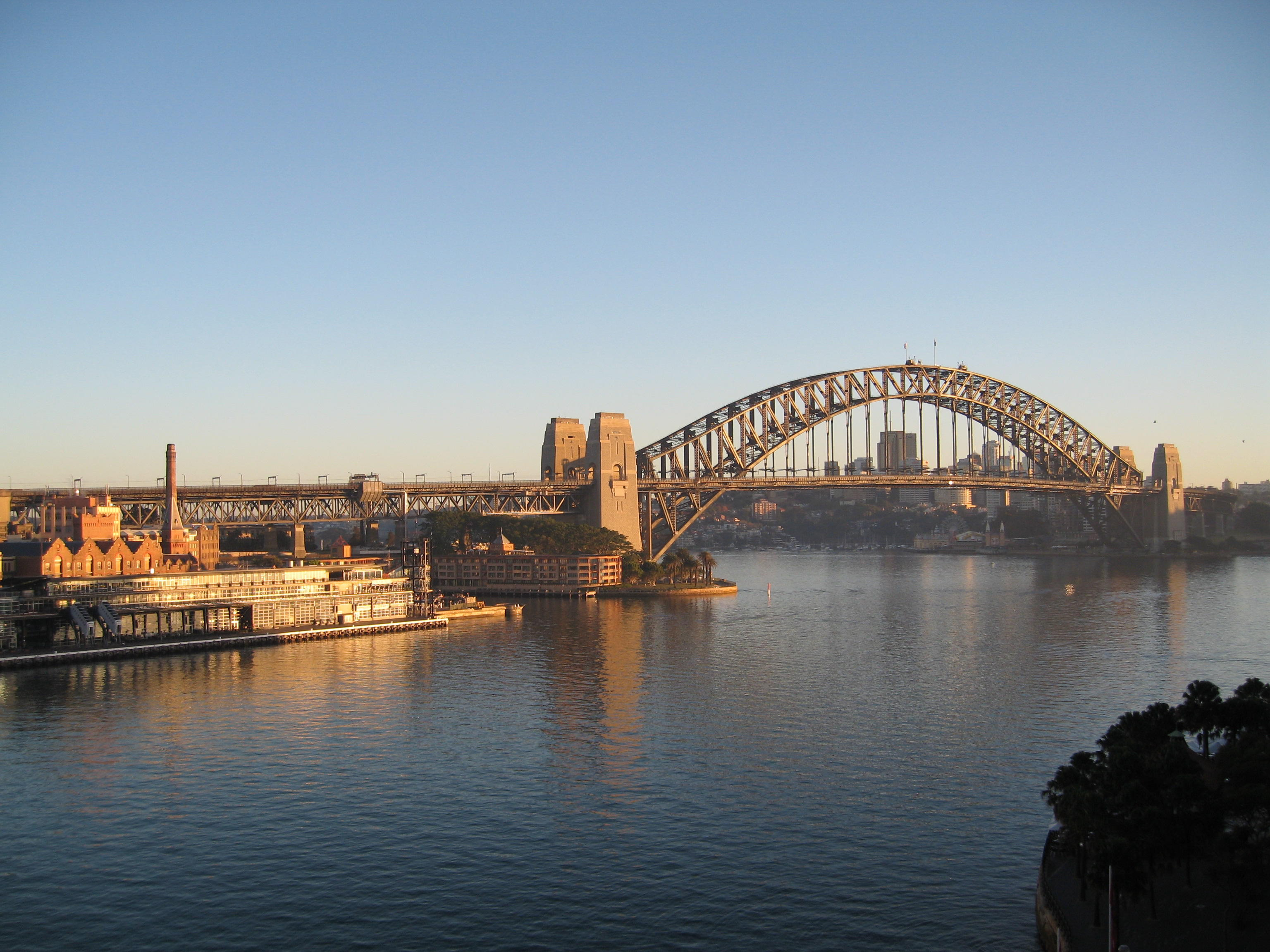an introduction to the history of the sydney harbour bridge The sydney harbour bridge is a steel through arch bridge across sydney  harbour that carries  as construction of the approaches took place, work was  also started on preparing the foundations required to support the enormous  weight of the.
